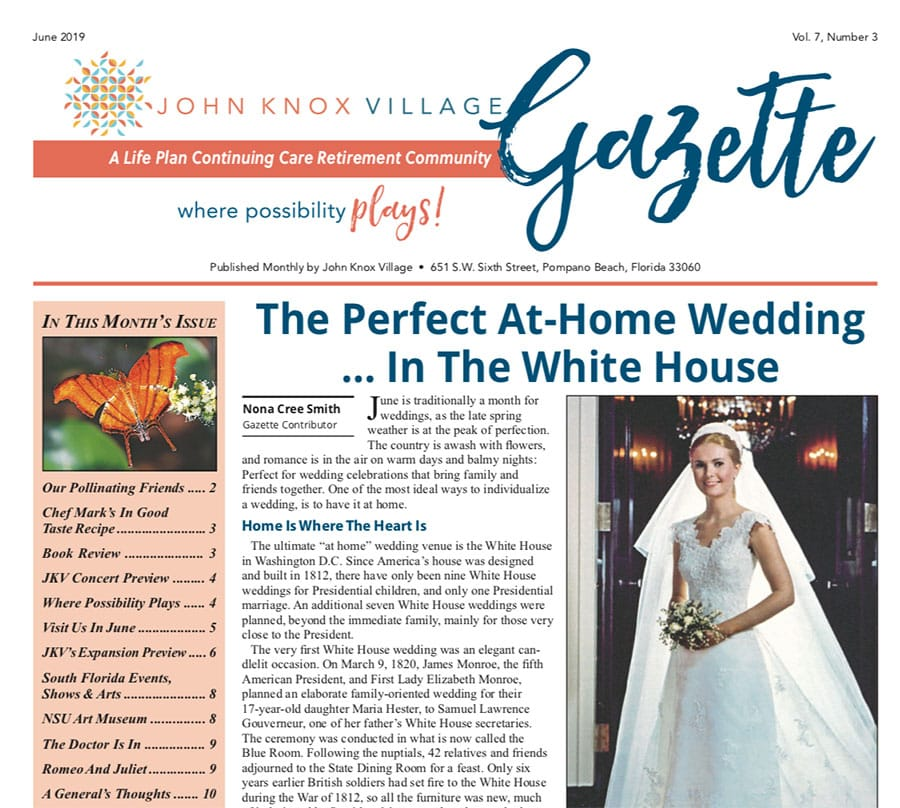 gazette � june 2019 � the perfect athome wedding�in the