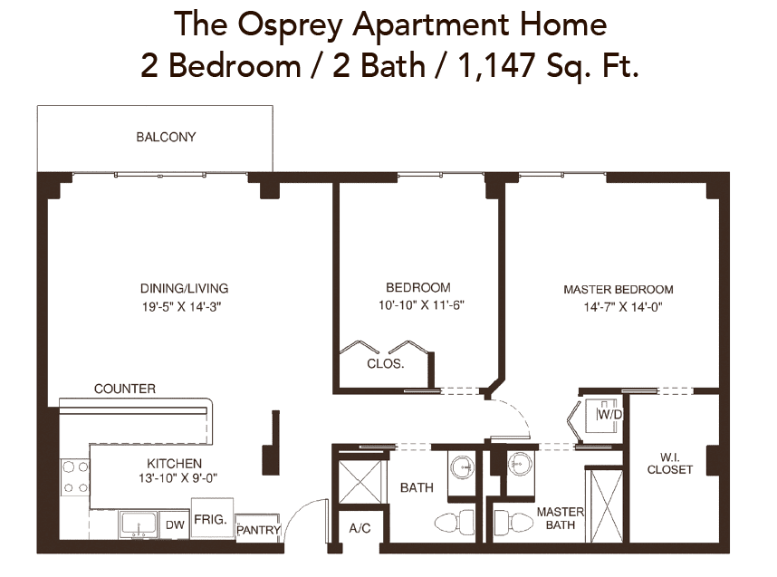 john knox village osprey apartment